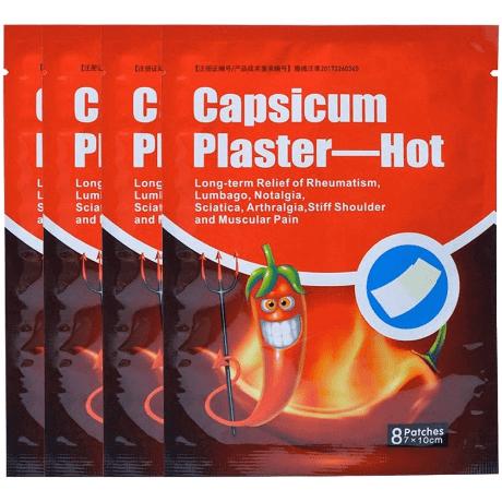 Analgetisches Wärmepflaster zur Schmerzlinderung