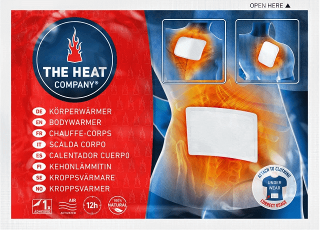 THE HEAT COMPANY Wärmepflaster