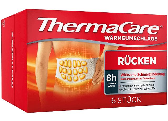 ThermaCare Wärmepflaster zur Entspannung der Muskeln