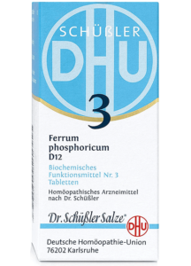 DHU Ferrum phosaphoricum D12