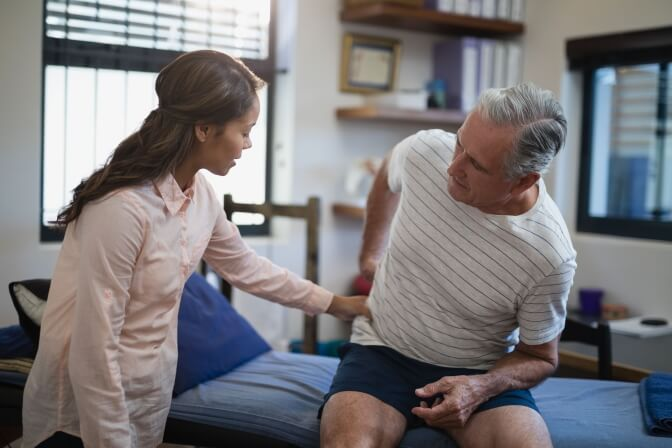 brennenden Rückenschmerzen diagnostizieren