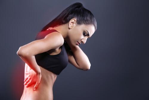 eingeklemmter Nerv im Rückenbereich