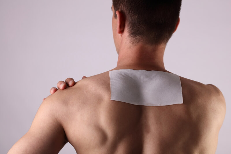 Pflaster bei Rückenschmerzen