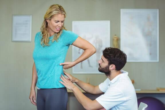 Rückenschmerz - Übung