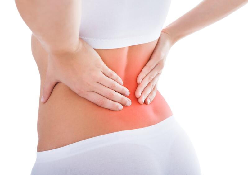 Schmerzen Rücken unterer Rückenbereich