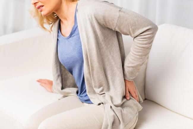 Schmerzen im Rückenbereich stechend