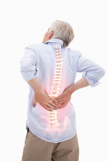 bei Rückenschmerzen - CBD