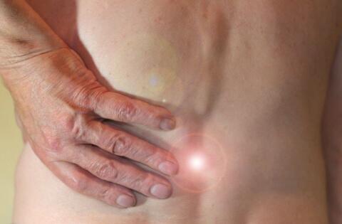chronischer Schmerz im Rücken