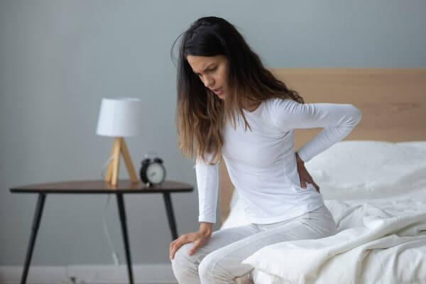 Stechender Schmerz im Rückenbereich