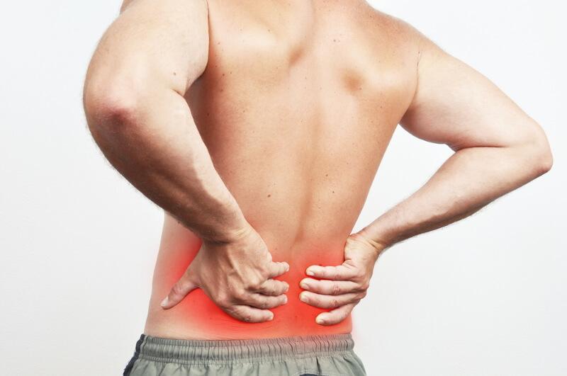 Rückenschmerzen im unteren Rücken