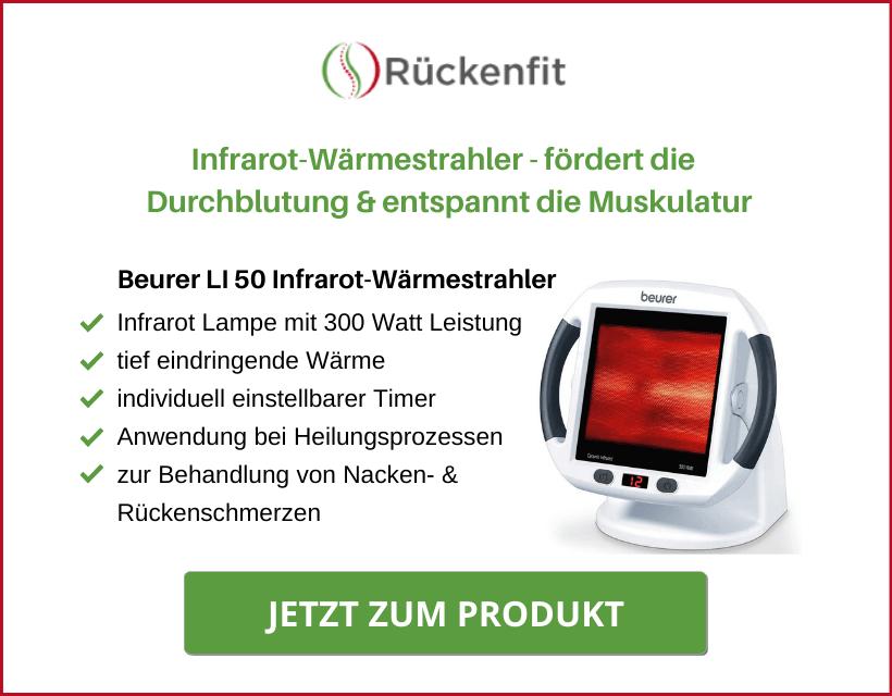 Beurer IL 50 Infrarot-Wärmestrahler zur Muskelentspannung